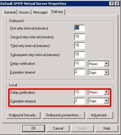 Troubleshooting Exchange Error 4.4.7 Delivery Delay and ...